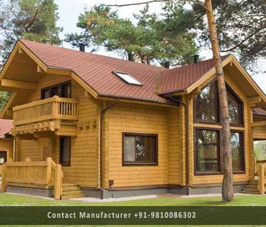 prefabricated wooden villa